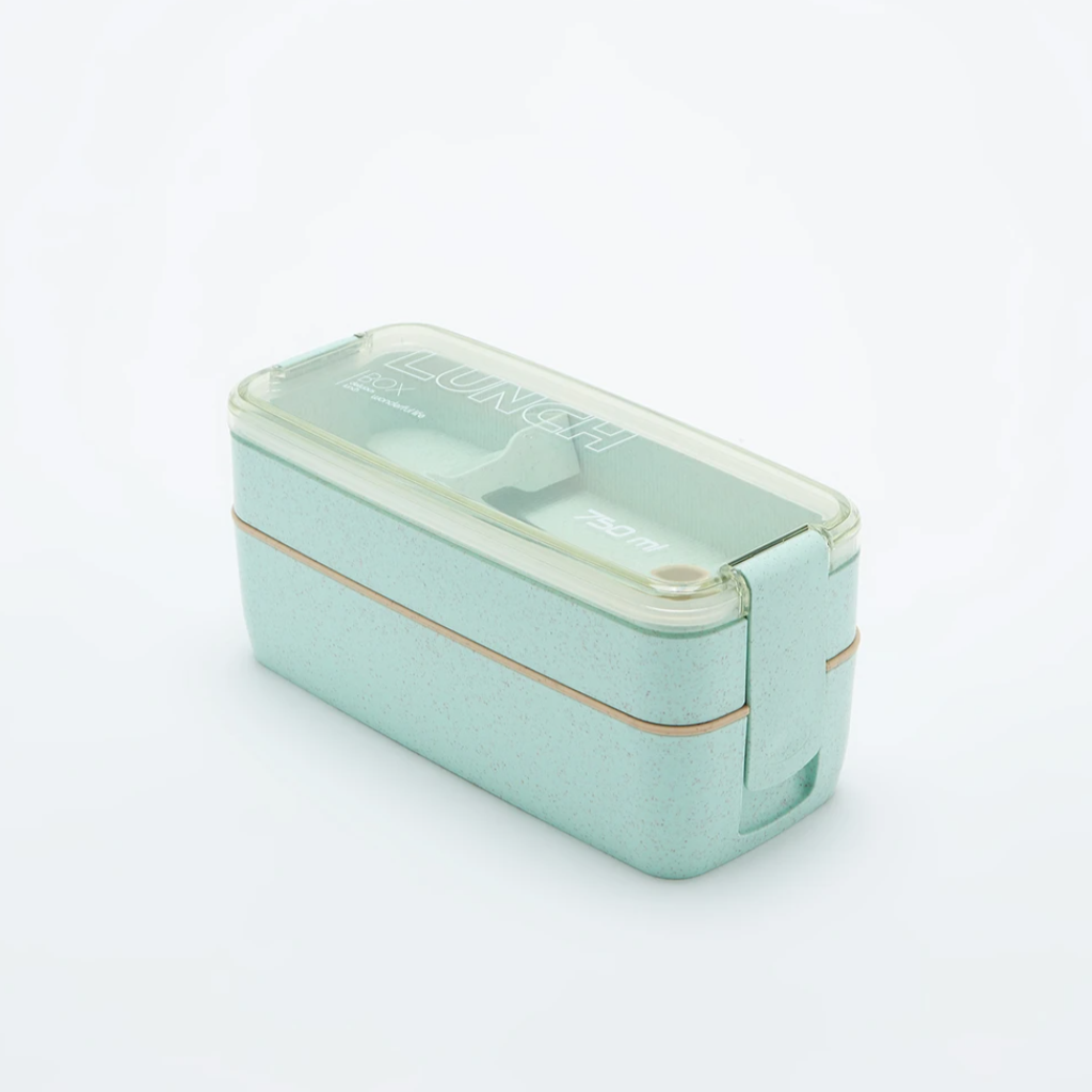 Bento Box with Utensils (750mL) - Roots Collective PH
