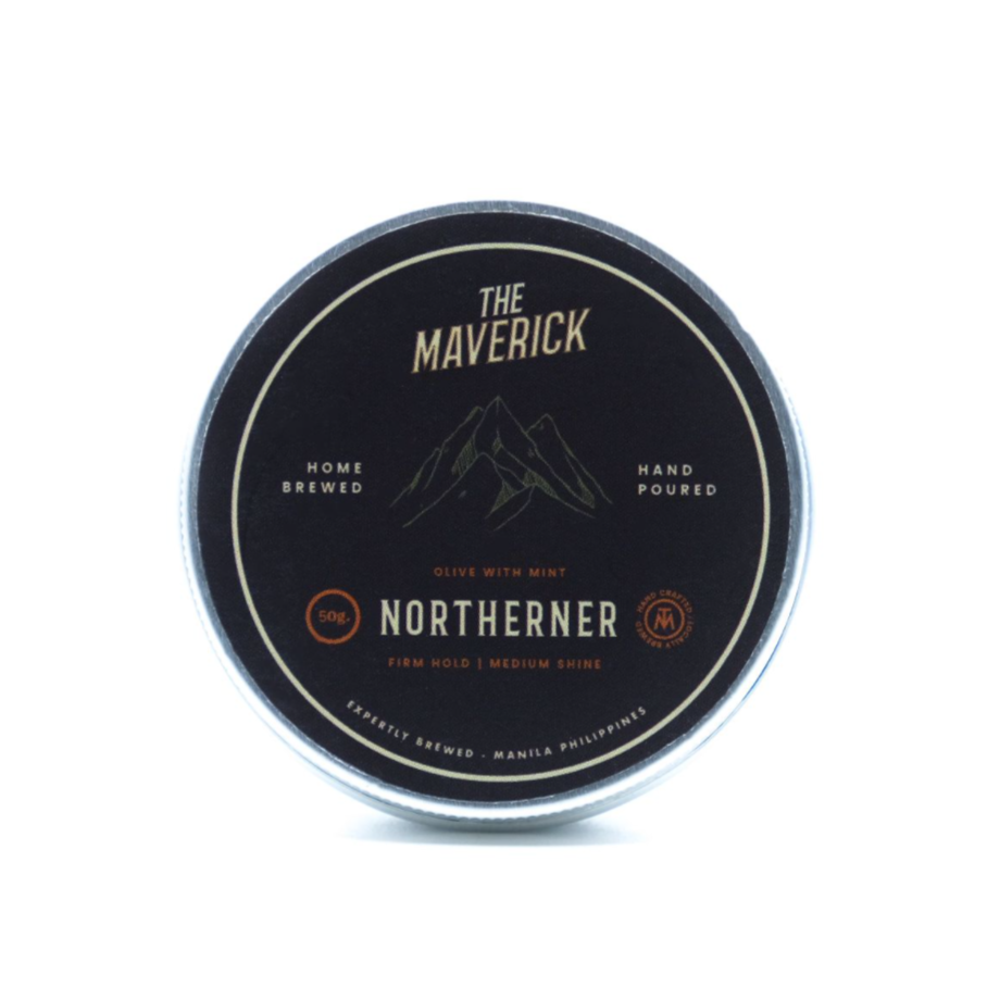 Northerner Olive-Mint Pomade (50g) - Roots Collective PH