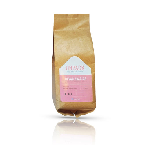 Davao Arabica Coffee (400g) - Roots Collective PH