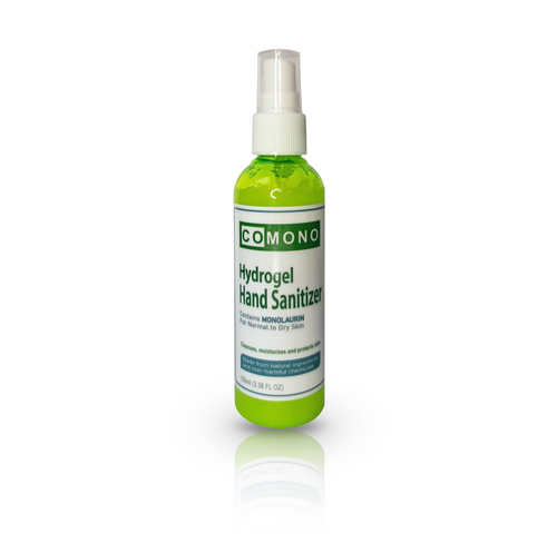 Hydrogel Sanitizer with Monolaurin (100mL) - Roots Collective PH