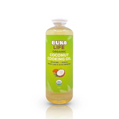 Organic Coconut Cooking Oil, 500mL