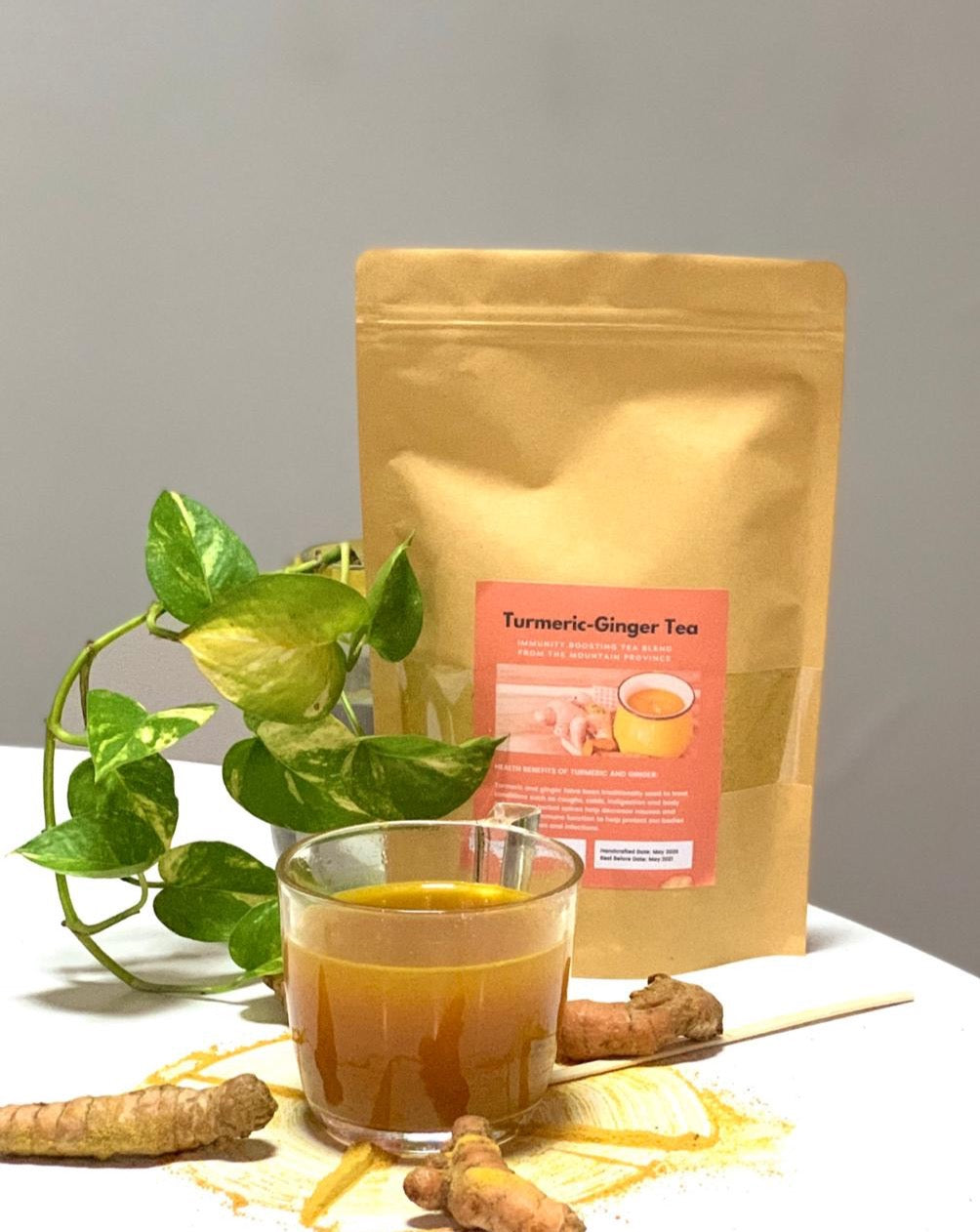 The Local Goodness PH Turmeric Ginger Tea (500g) - Roots Collective PH