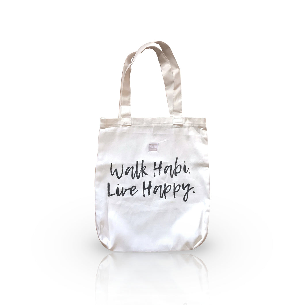 Canvas Tote Bag - Walk HABI - Roots Collective PH