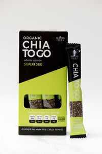Chia Seeds to Go (10g x 10 packs) - Roots Collective PH