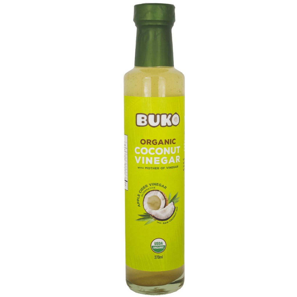 BUKO Organic Coco Vinegar (270mL) - Roots Collective PH