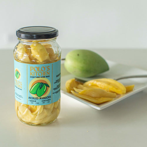 Polo's Kitchen Pickled Mangoes - Roots Collective PH