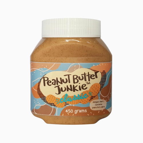 Peanut Butter Junkie's Classic Peanut Butter, 450g - Roots Collective PH