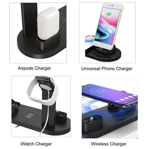Wireless charging-4 IN 1 iSMART STATION (40%OFF SALE)