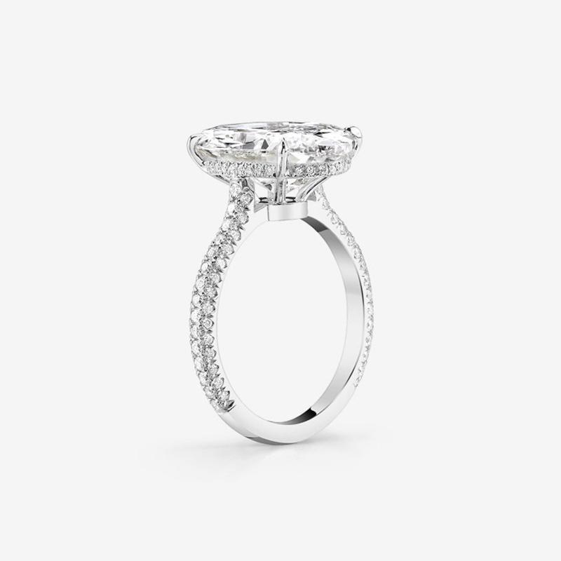 Classic 4.3CT Oval Cut Ring - jolics