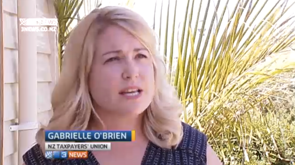 Gabrielle O'Brien on 3News