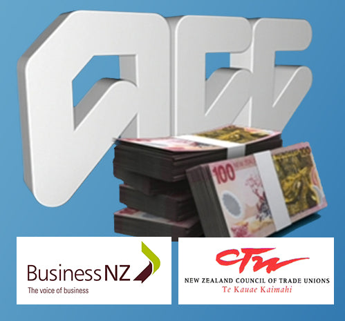ACC has a cozy deal with Business NZ and the CTU despite knowing 84 cents per dollar wasted