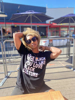 Love Black People Like You Love Black Culture T-shirt