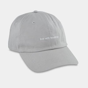 """Live with intention"" Hat"