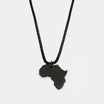 Black Africa Map