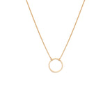 Load image into Gallery viewer, The Circle Necklace - 10k Solid Gold