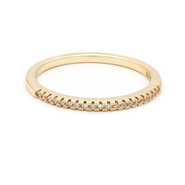 Pave Dainty Band