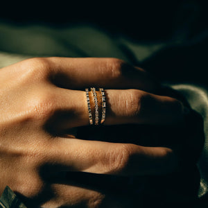 Facade Band - 14k Solid Gold