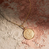 Load image into Gallery viewer, Aquarius Pendant - Gold Vermeil