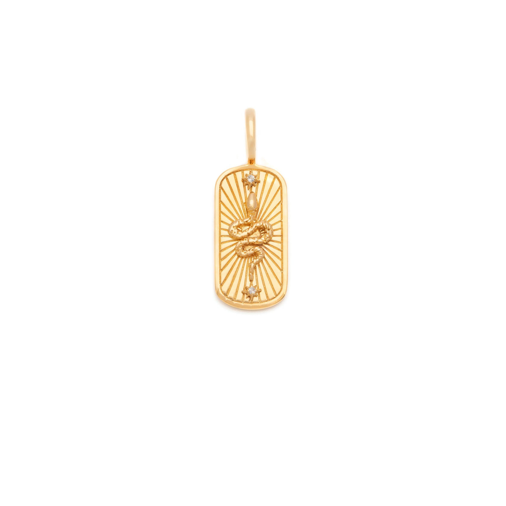 Transformation Talisman (Snake) - Gold Vermeil