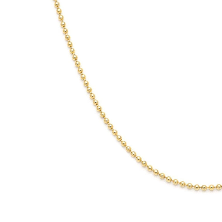Ball Chain - Gold Vermeil