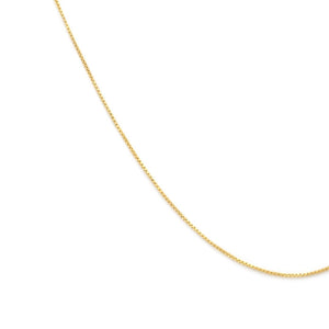 Box Chain - Gold Vermeil