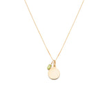 Load image into Gallery viewer, Creativity Charm Necklace - 10k Solid Gold
