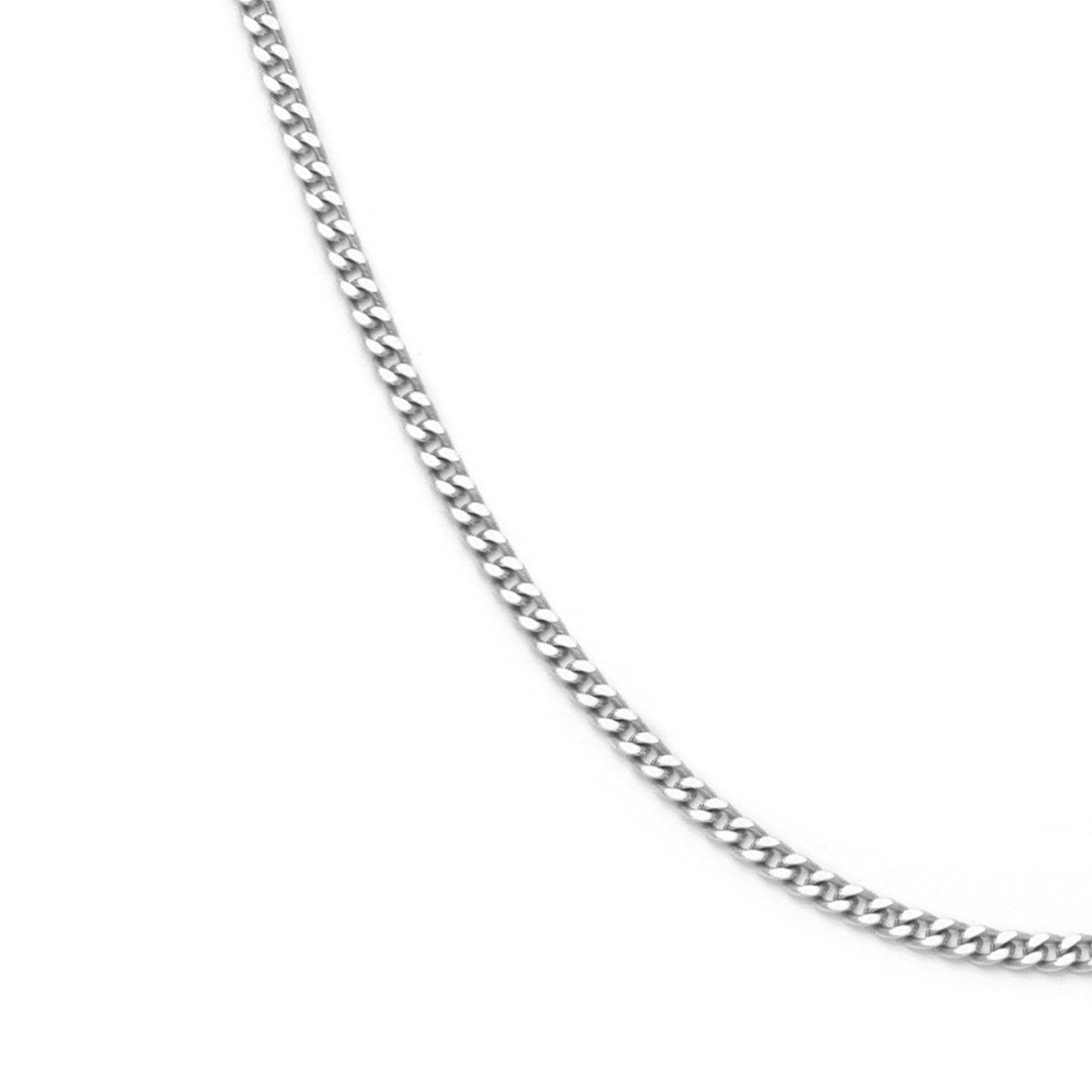 Delicate Curb Chain - Sterling Silver