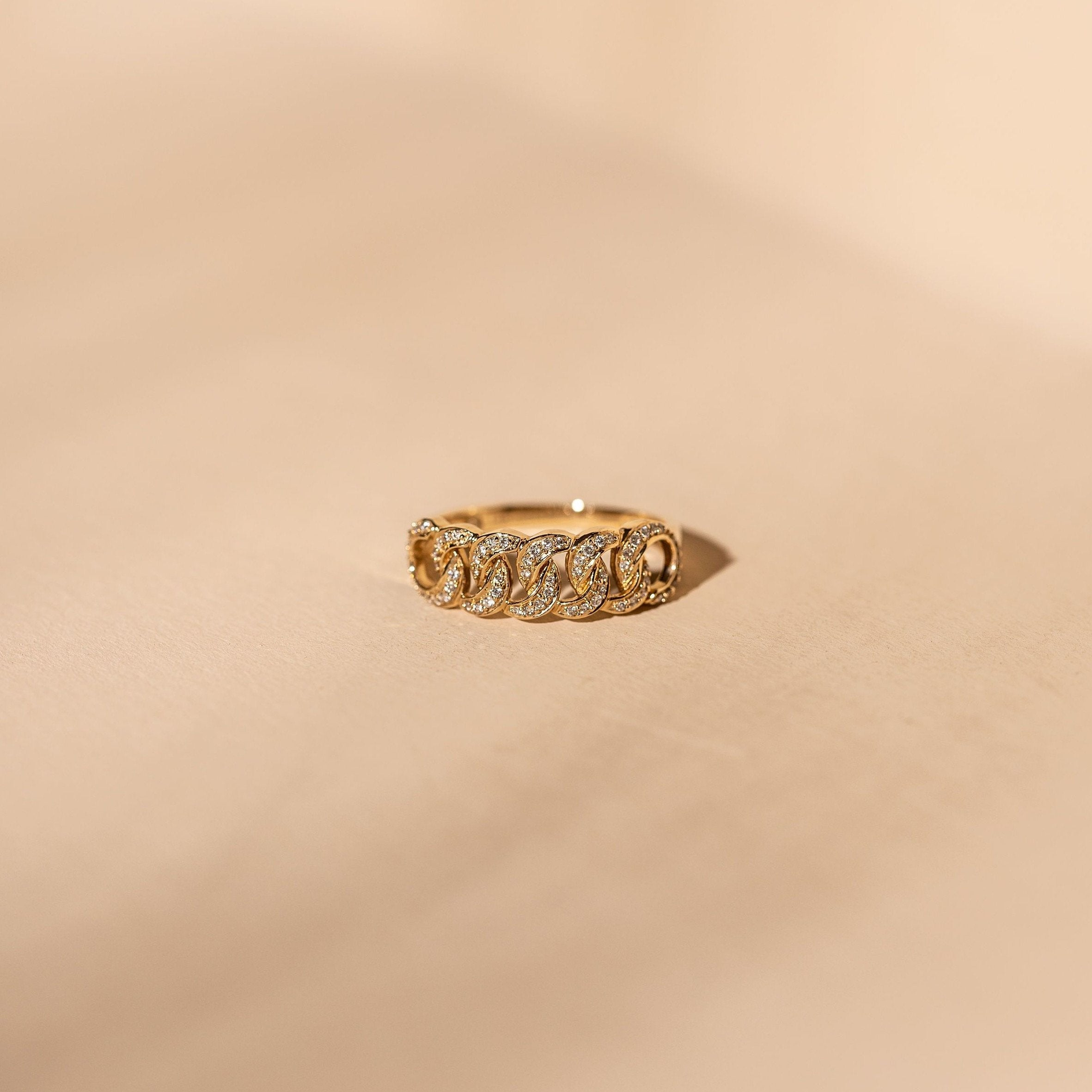 *Made to Order* Diamond Love Knot Band - 14k Solid Gold