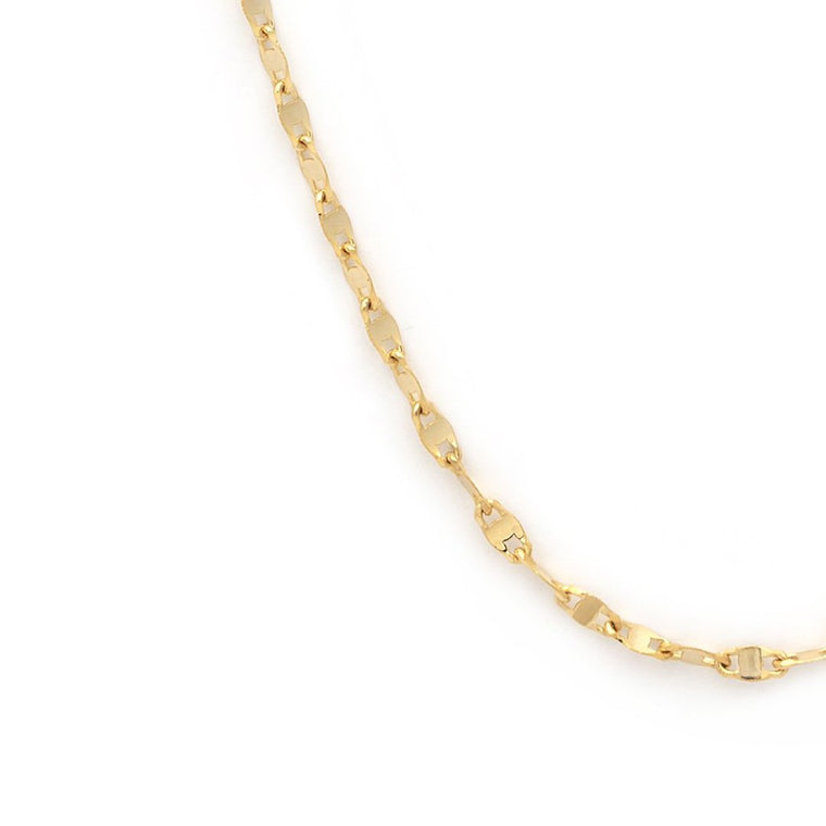 Fancy Chain - 10k Solid Gold