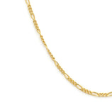 Load image into Gallery viewer, Thin Figaro Chain - Gold Vermeil