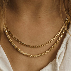 Curb Chain - Sterling Silver