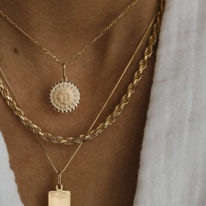 Thick Rope Chain - Gold Vermeil
