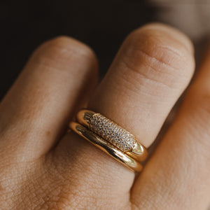 Oro Ring - Sterling Silver