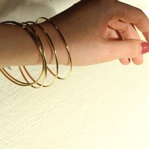 *PREORDER* The Bangle - 10k Solid Gold