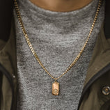 Load image into Gallery viewer, Men's Curb Chain - Gold Vermeil