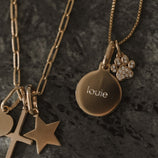 Load image into Gallery viewer, Pet Lovers Charm Necklace - Gold Vermeil