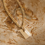Load image into Gallery viewer, Leading Light Charm Necklace - Gold Vermeil