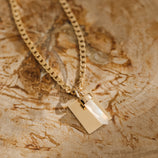 Load image into Gallery viewer, Prism Pendant - Gold Vermeil/Moonstone