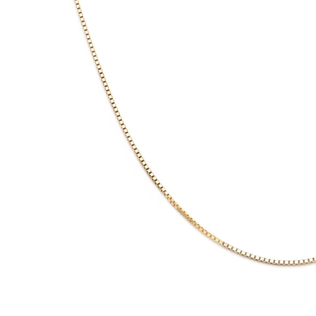 Luxe Box Chain - 10k Solid Gold