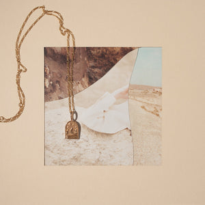 The Haven Pendant - Gold Vermeil
