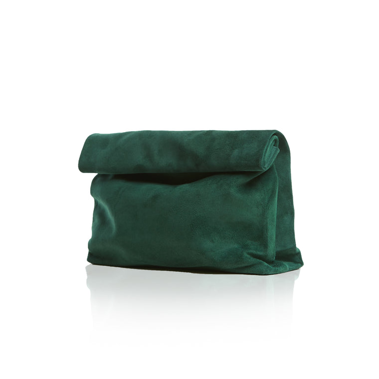 Leather Lunch Clutch