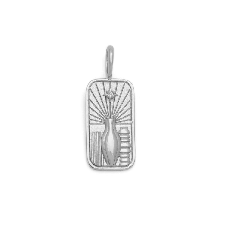 the Nourishment Pendant - Sterling Silver