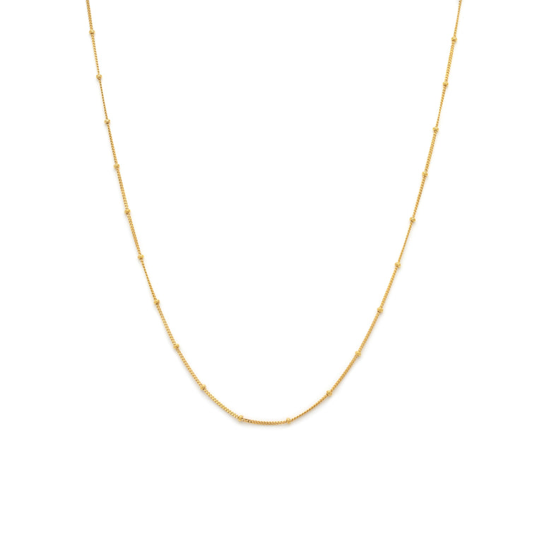 Station Chain - Gold Vermeil