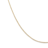 Load image into Gallery viewer, Thin Cable Chain - 14k Solid Gold