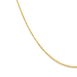 Load image into Gallery viewer, Thin Rope Chain - Gold Vermeil