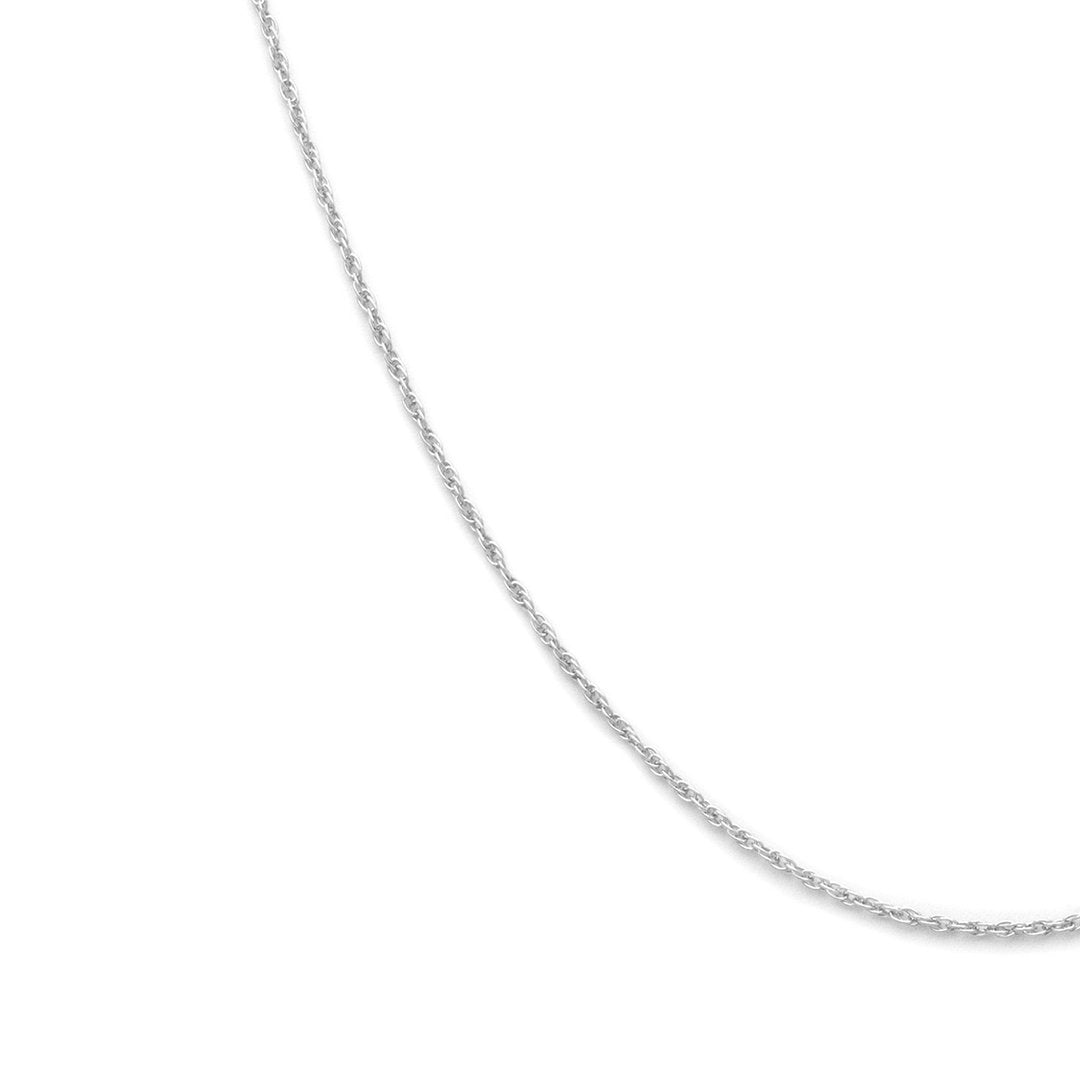 Thin Rope Chain - Sterling Silver