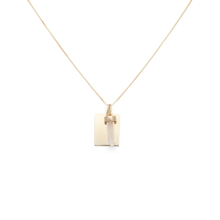 Leading Light Charm Necklace - Gold Vermeil