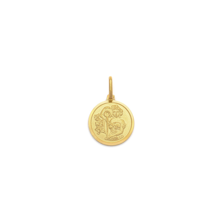 Aquarius Pendant - Gold Vermeil