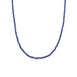 Load image into Gallery viewer, Stone Strand Choker- Gold Vermeil/Lapis