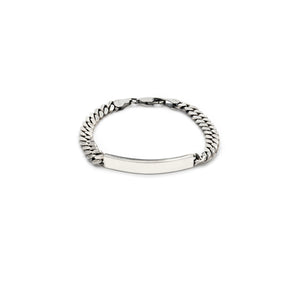 Heavyweight ID Bracelet - Sterling Silver